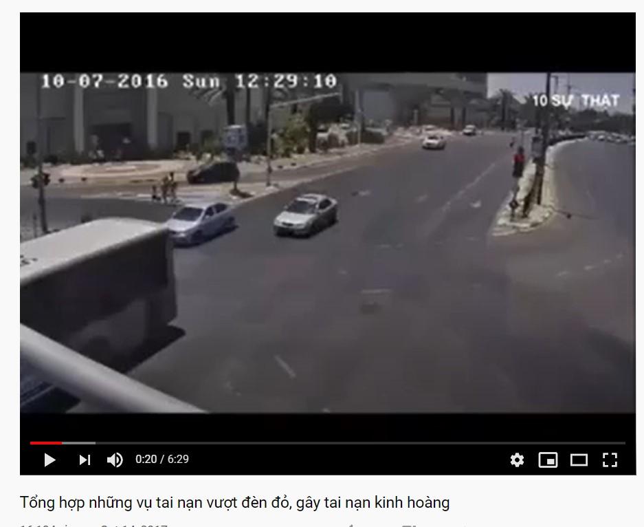 Vietnam traffic rules_youtube video