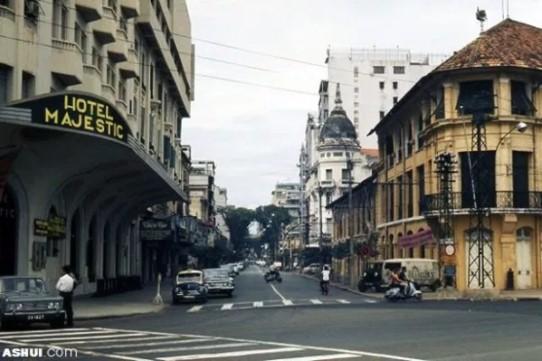 saigon then & now _hotel majestic