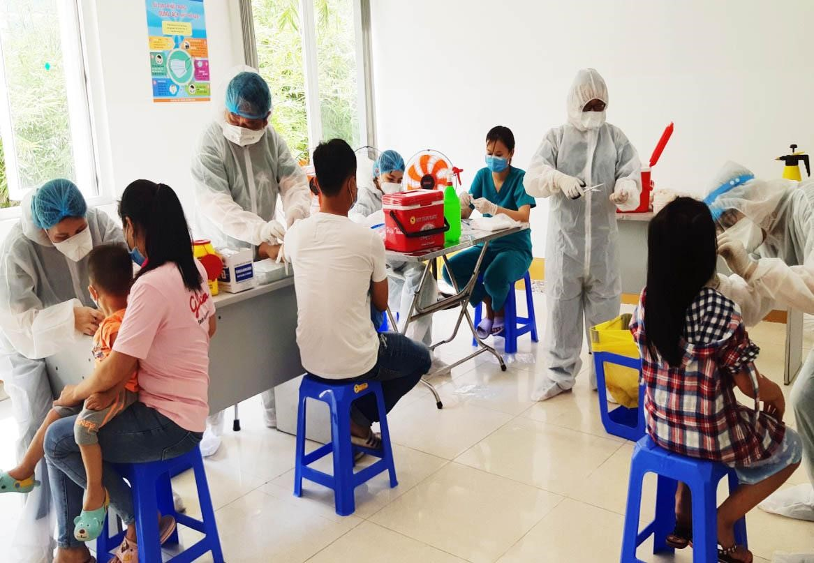 Da Nang returnees_COVID-19 testing