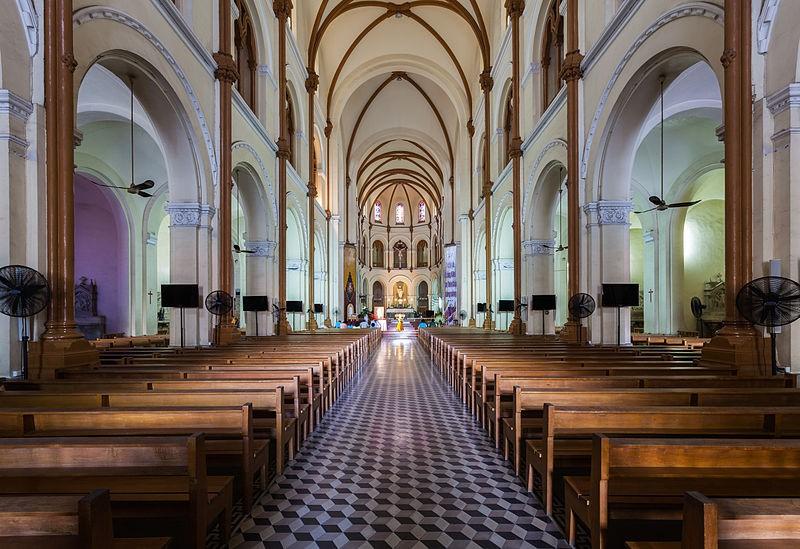 Saigon then & now _ notre dame cathedral