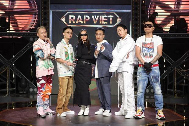 Rap Viet TV Show_judges