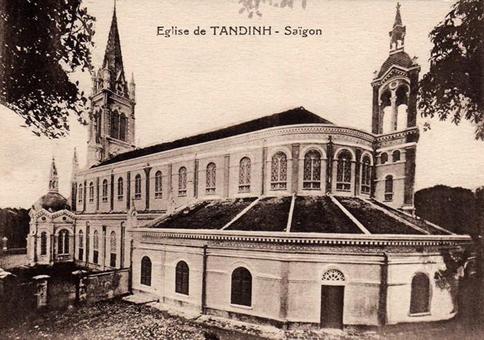 Saigon then & now _ tan dinh church