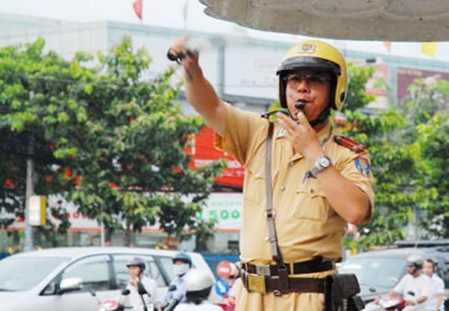 Vietnam traffic rules_traffic police