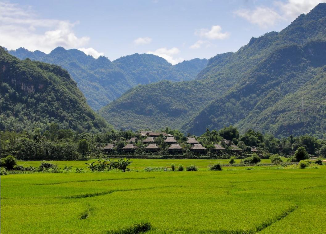 Vietnam natural landscape_Mai Chau valley