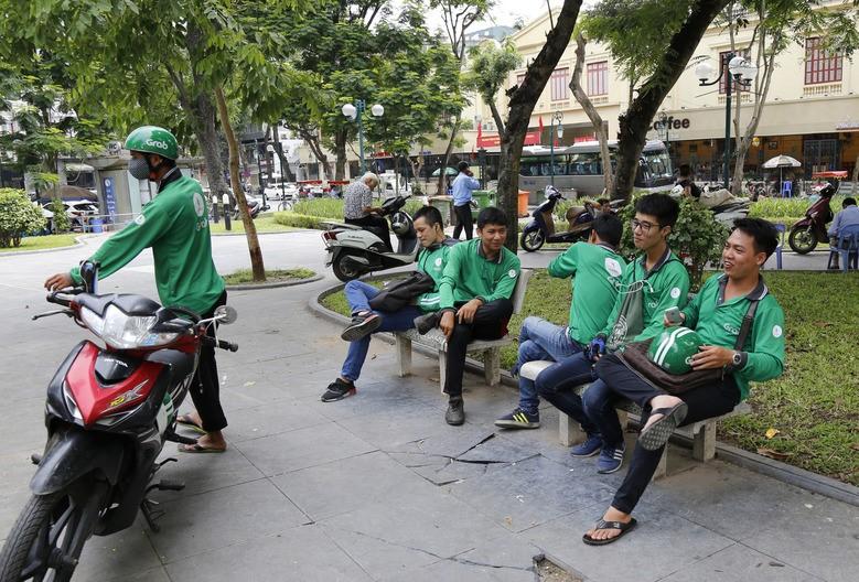 Vietnam grab drivers