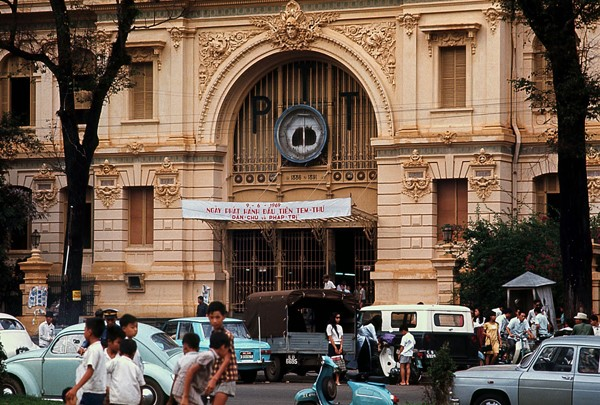 Saigon then & now_post office