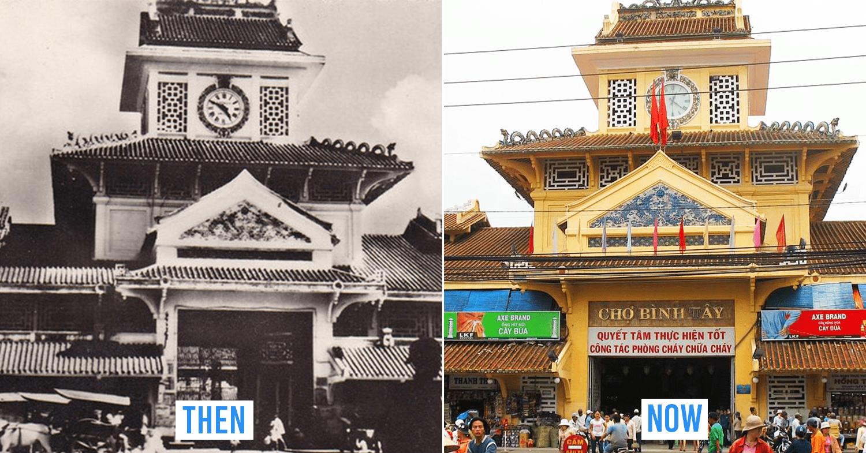 Saigon then and now_Binh Tay market