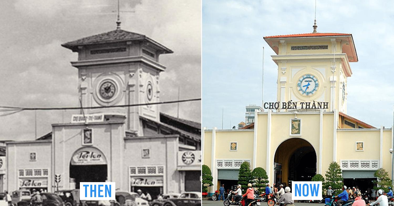 Saigon then and now_Ben Thanh market