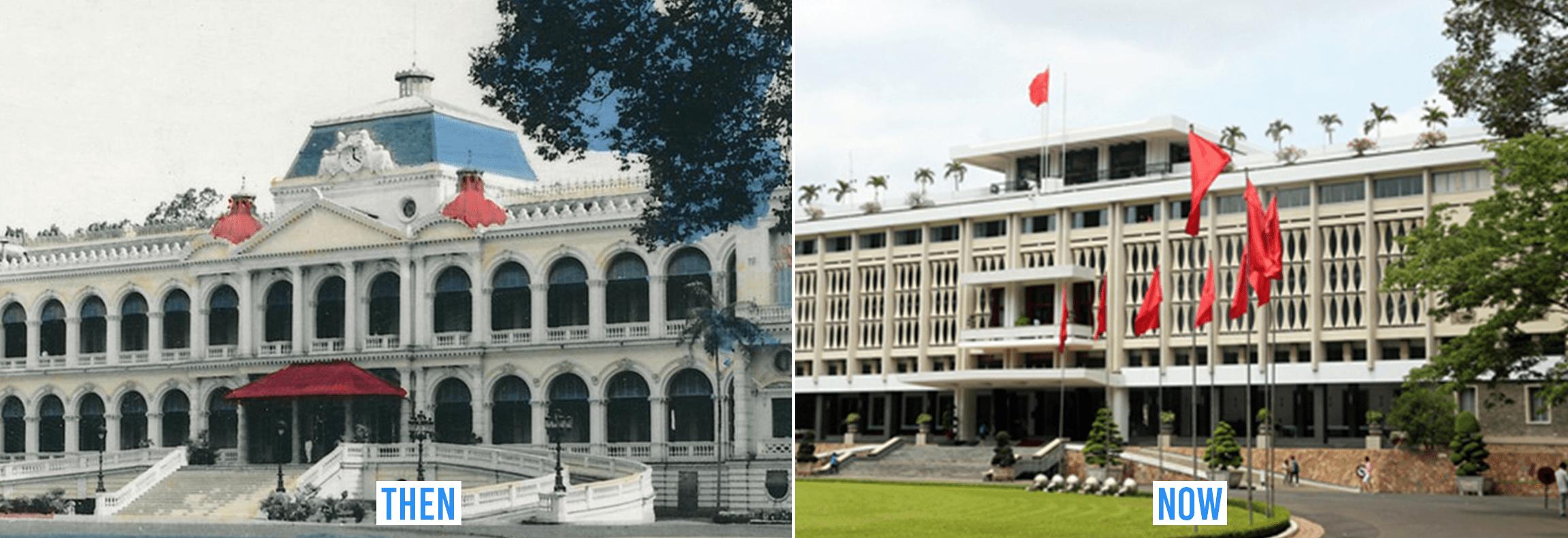 saigon then & now _ independence palace