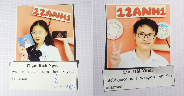 Vietnamese High School Graduates Pen Hilarious Yearbook Quotes