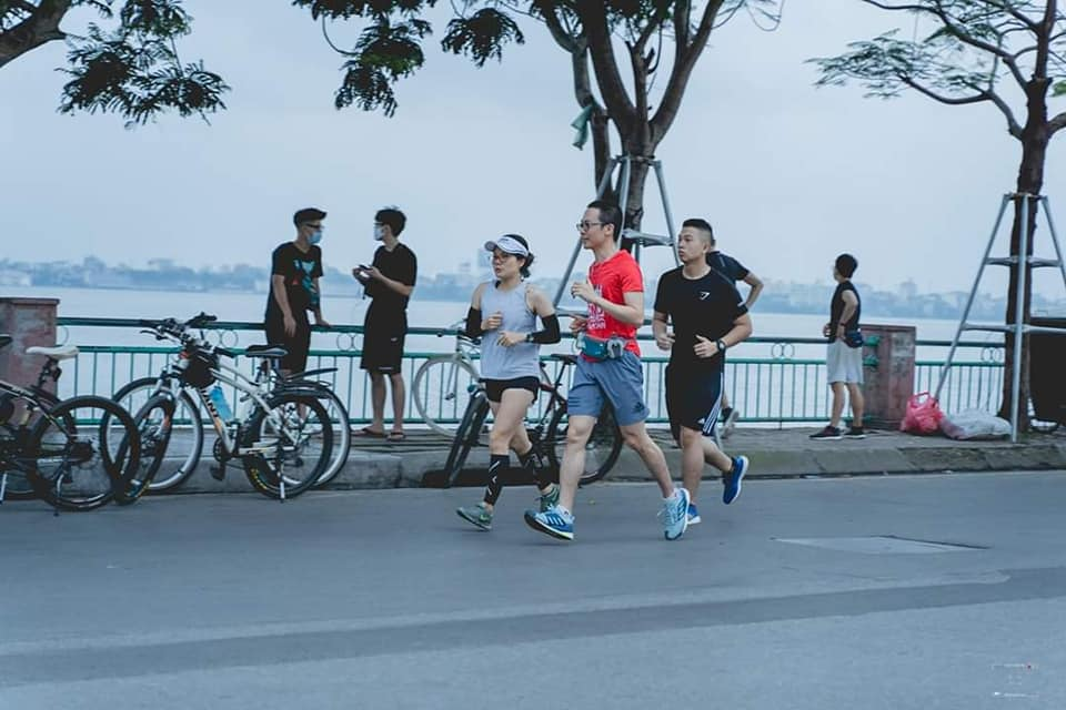 things to do in Hanoi - jogging for beginners