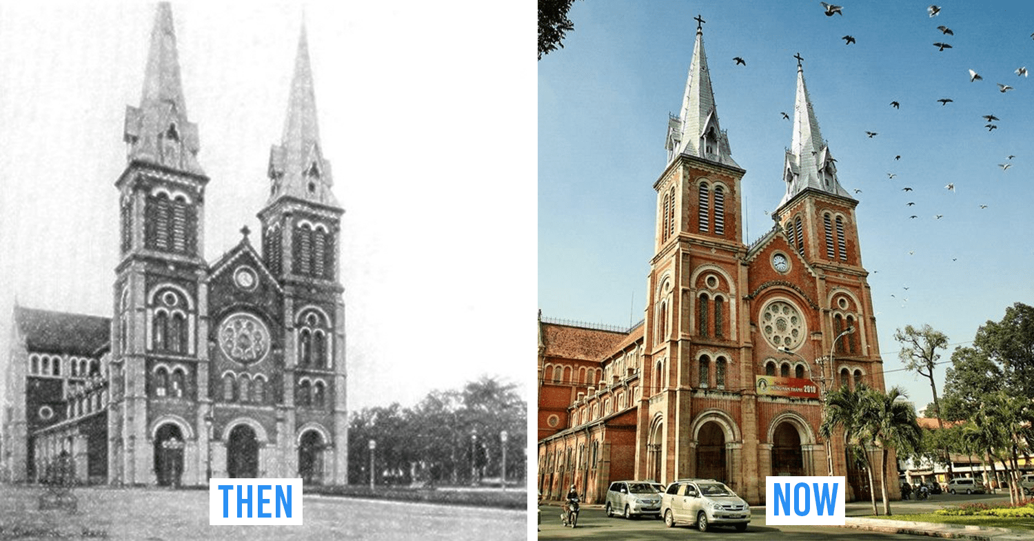 saigon then and now_notre dame cathedral