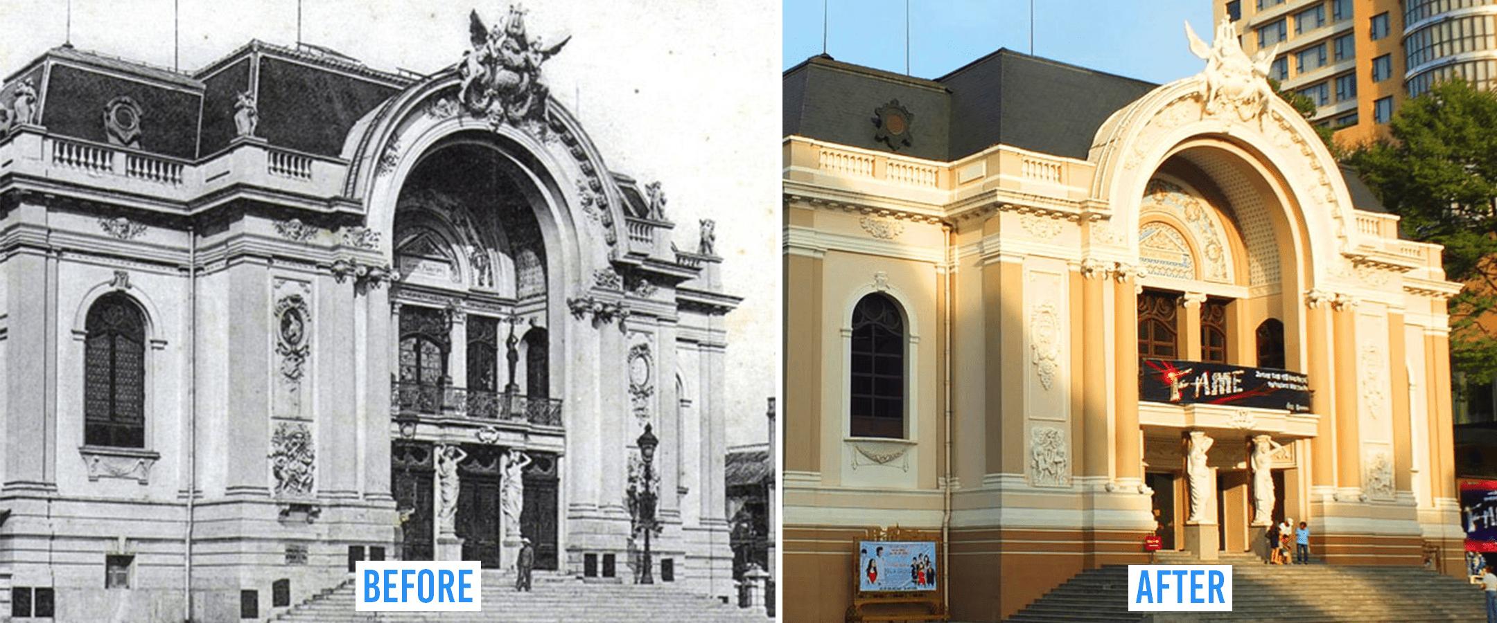 Saigon then and now_opera house