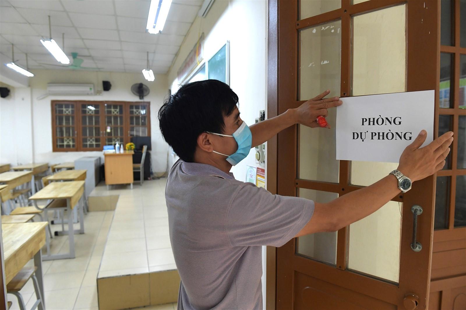 Vietnam 2020 high school grad exam_isolated room