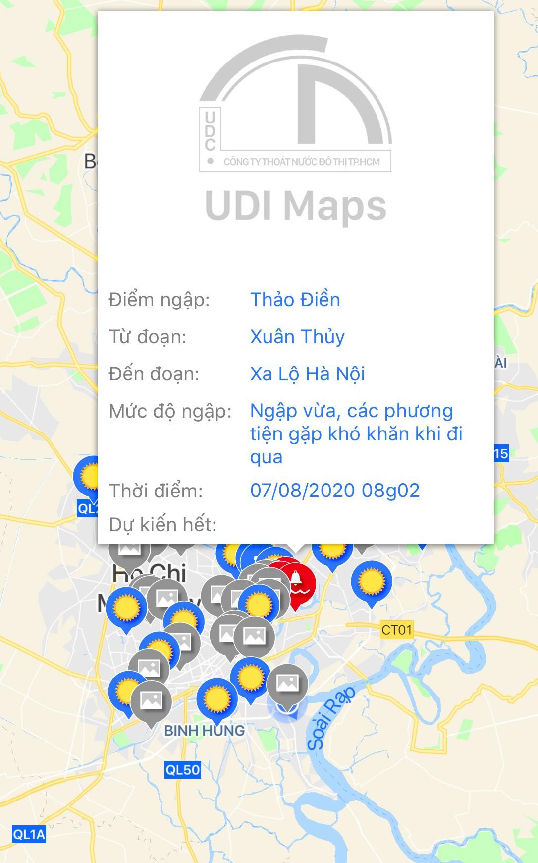 UDI MAPS - weather tracking app