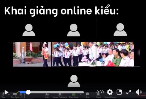 Vietnam new school year opening_online