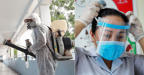 Vietnam Schools Disinfected To Prep For The National High School Graduation Exams Amid COVID-19 Pandemic