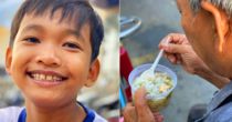 Poor Saigon Boy Hands Out Free Pineapples & Meals To The Underprivileged During COVID-19 Pandemic