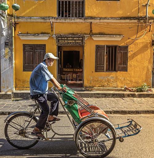 scams in Vietnam - cyclo