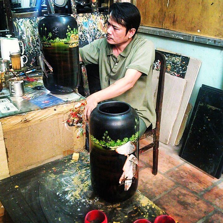 vietnam souvernirs - lacquerware