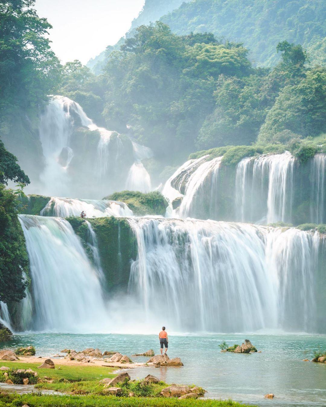 vietnam waterfalls - ban gioc waterfall 1