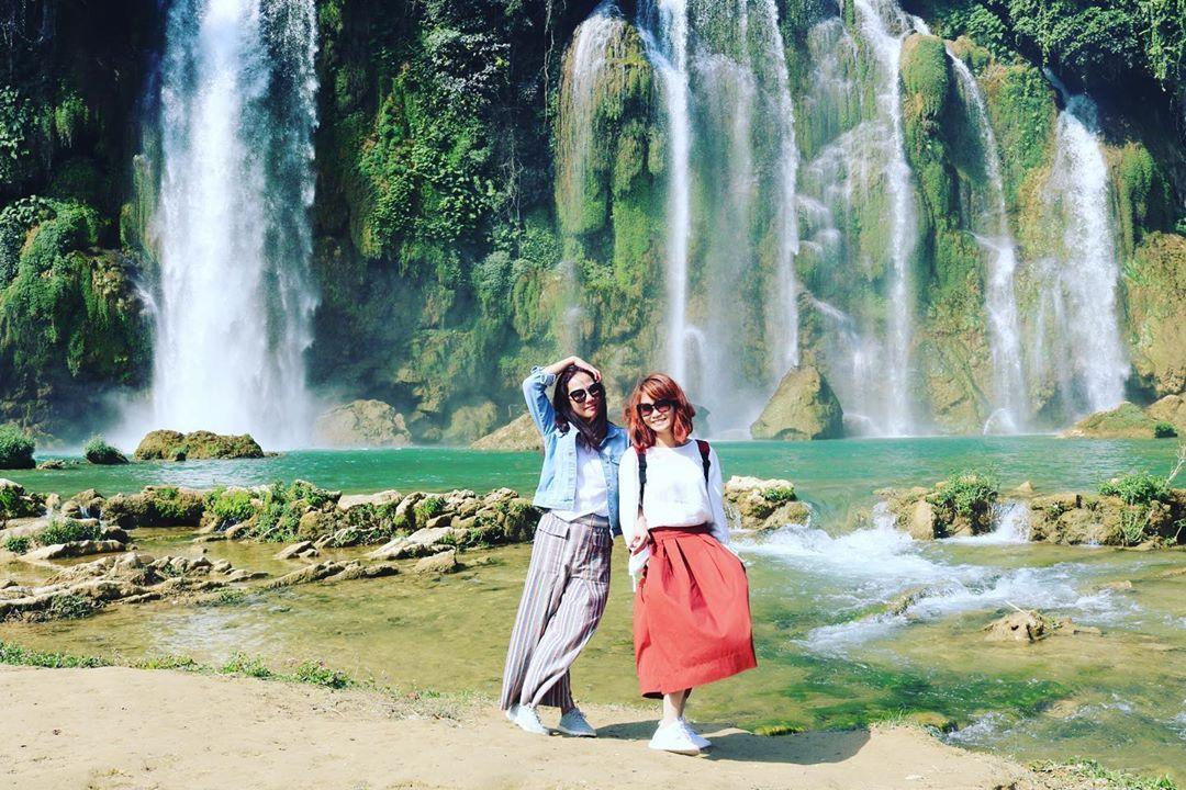 vietnam waterfalls - ban gioc waterfall 2