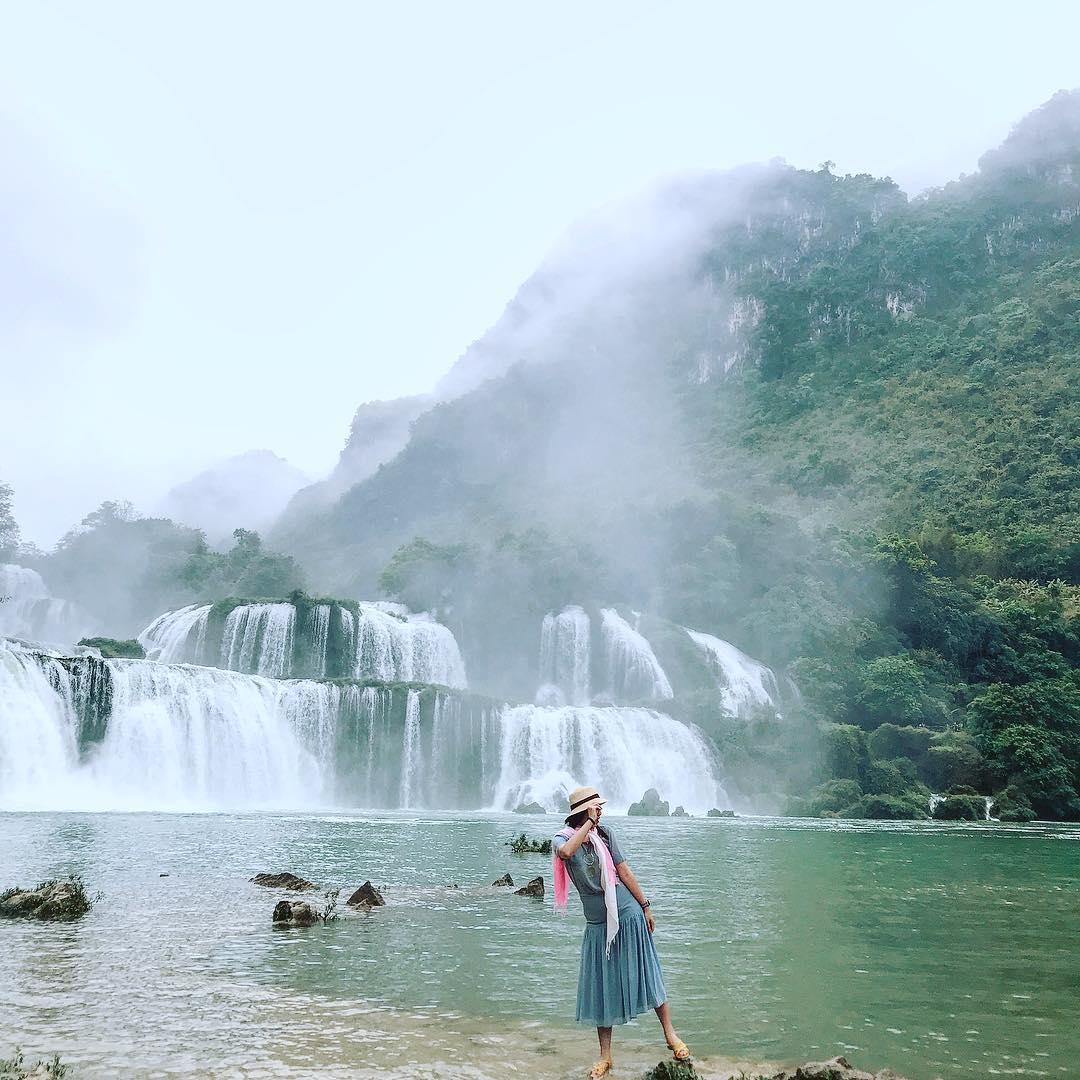 vietnam waterfalls - ban gioc waterfall 4