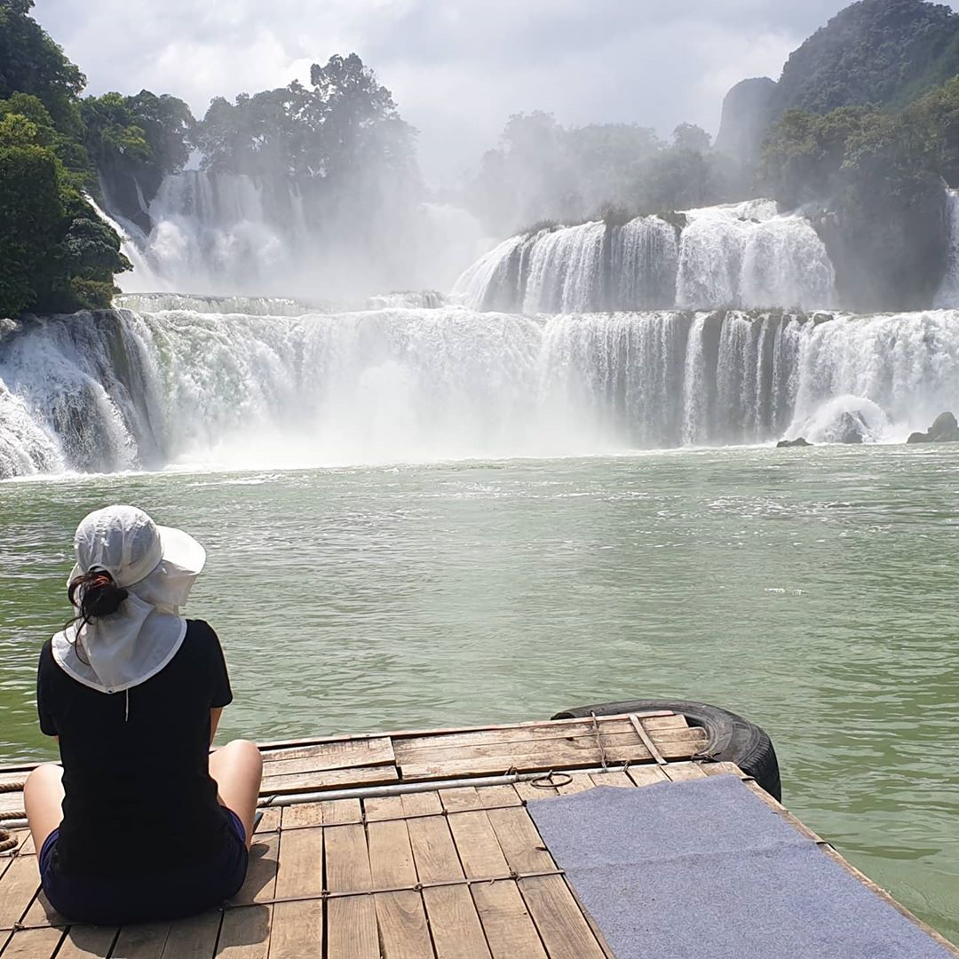 vietnam waterfalls - ban gioc waterfall 5