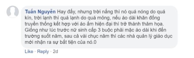 ao dai for men-comments