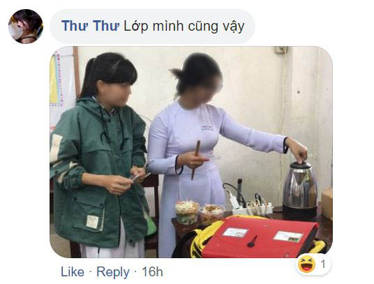 thu thu's facebook comment