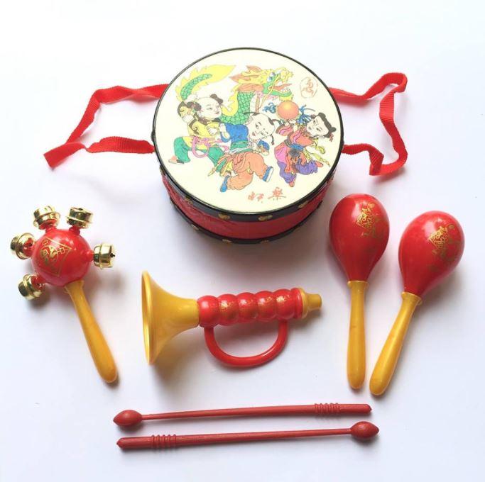 Mid-Autumn festival Vietnam toys-drums