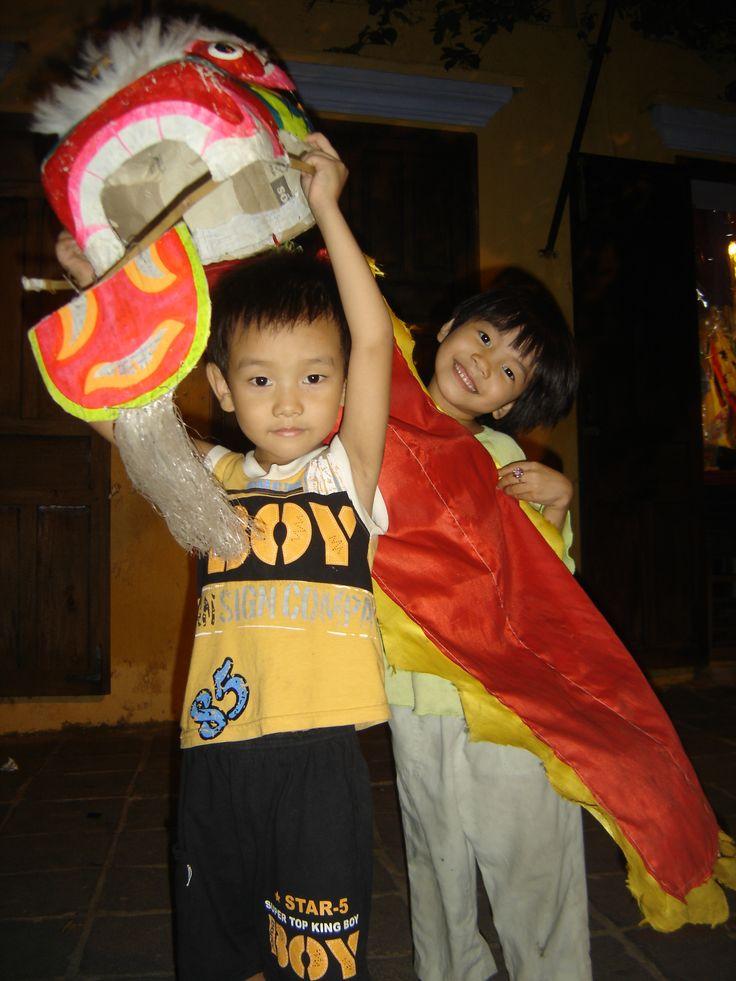 Mid-Autumn festival Vietnam toys-lion heads