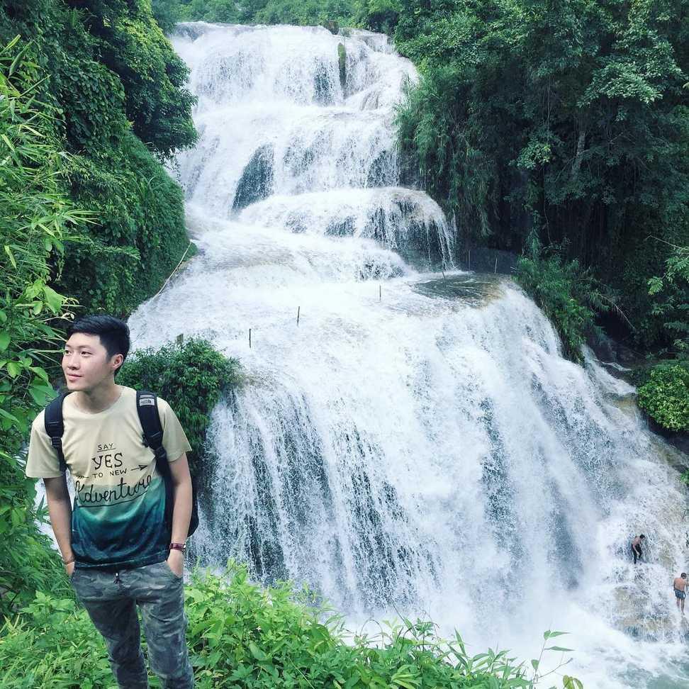vietnam waterfalls - mu waterfall 1
