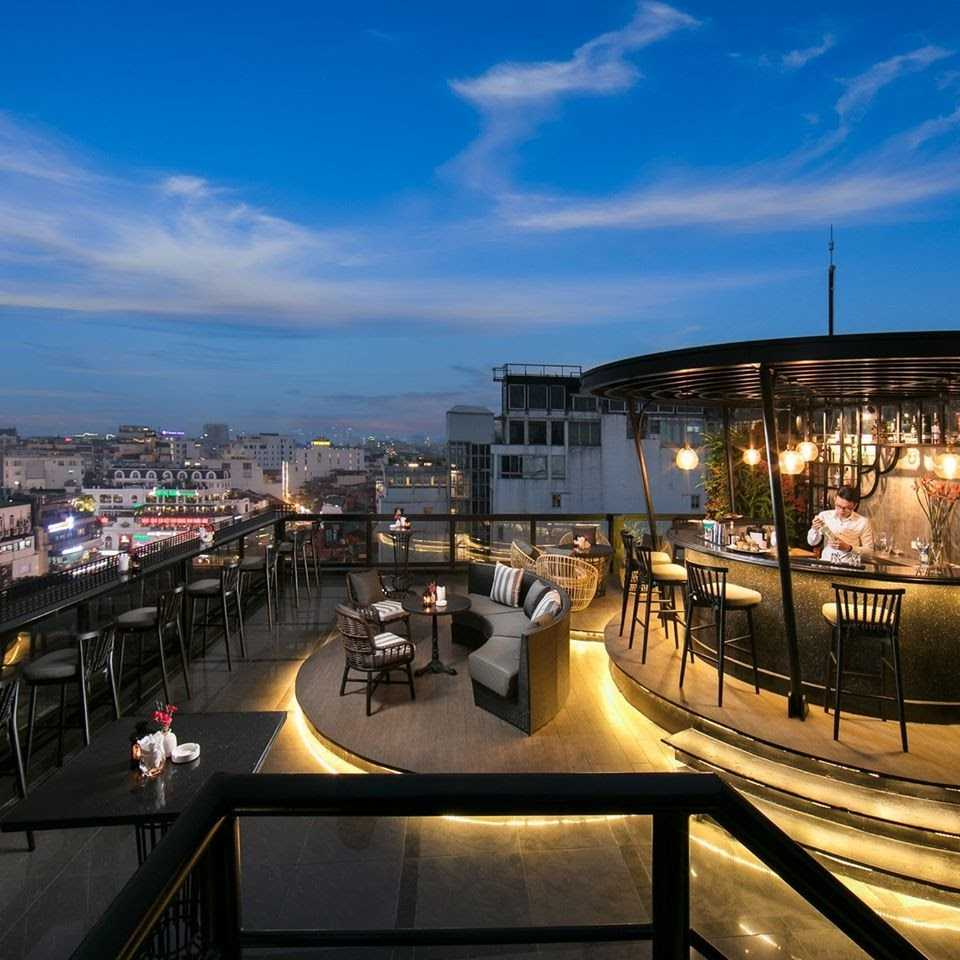 hanoi rooftop bars - o'sky bar