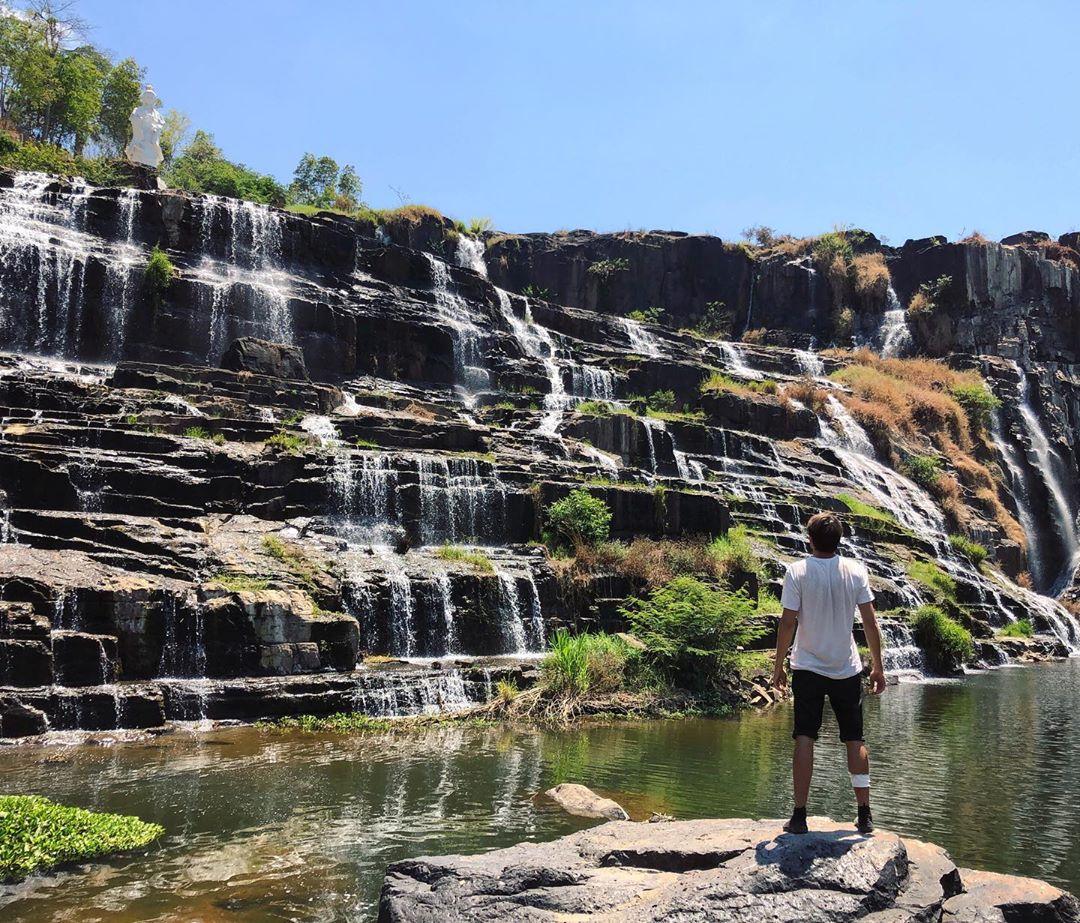 vietnam waterfalls - pongour waterfall 1