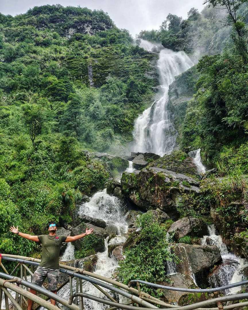 vietnam waterfalls - silver waterfall sapa 1