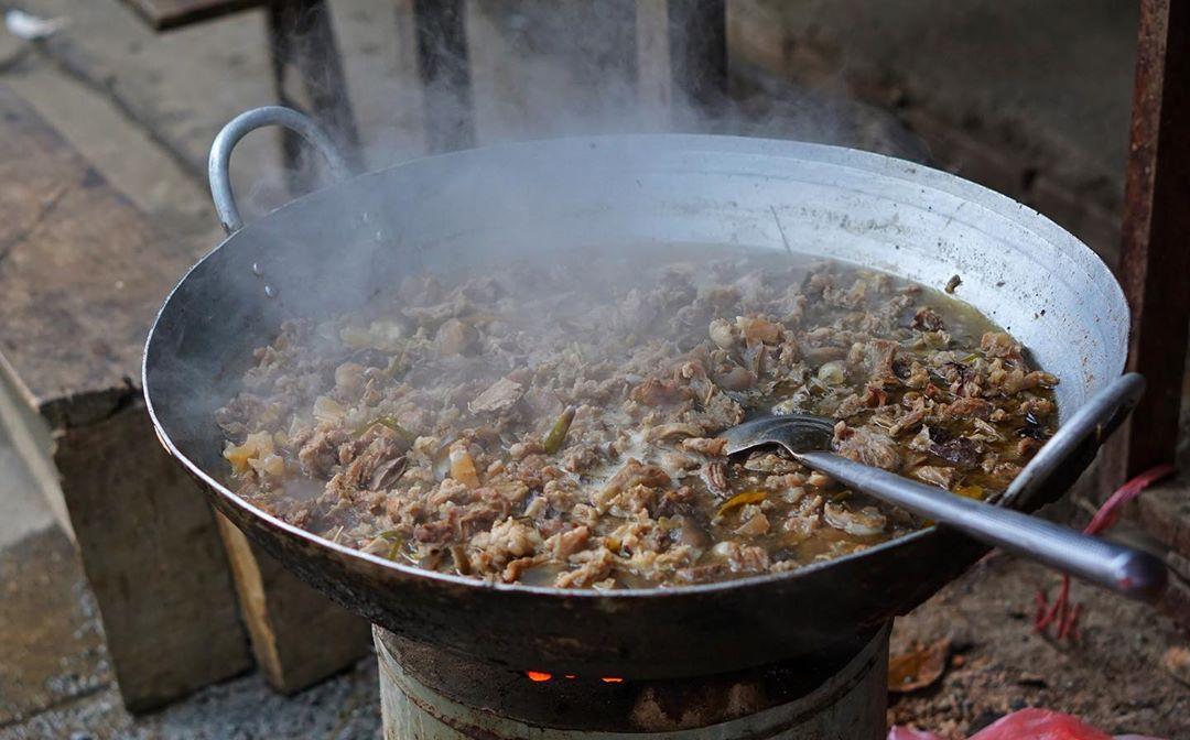 weird vietnamese foods - thắng cố