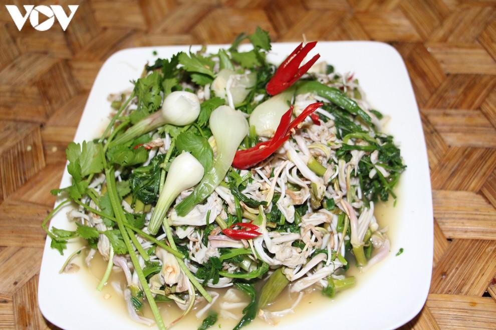 vietnamese mountain ebony salad