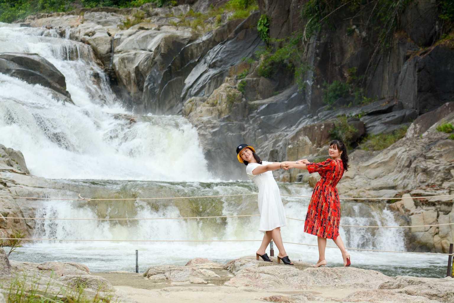 vietnam waterfalls - yang bay waterfall 2