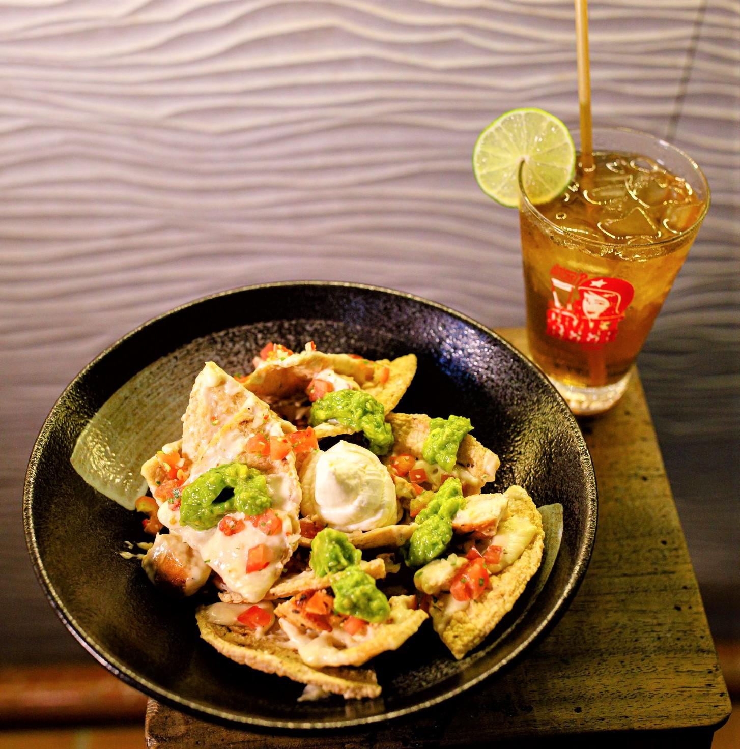 Saigon Outcast food - nachos