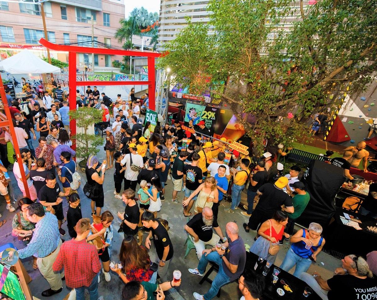 saigon outcast - weekend festival