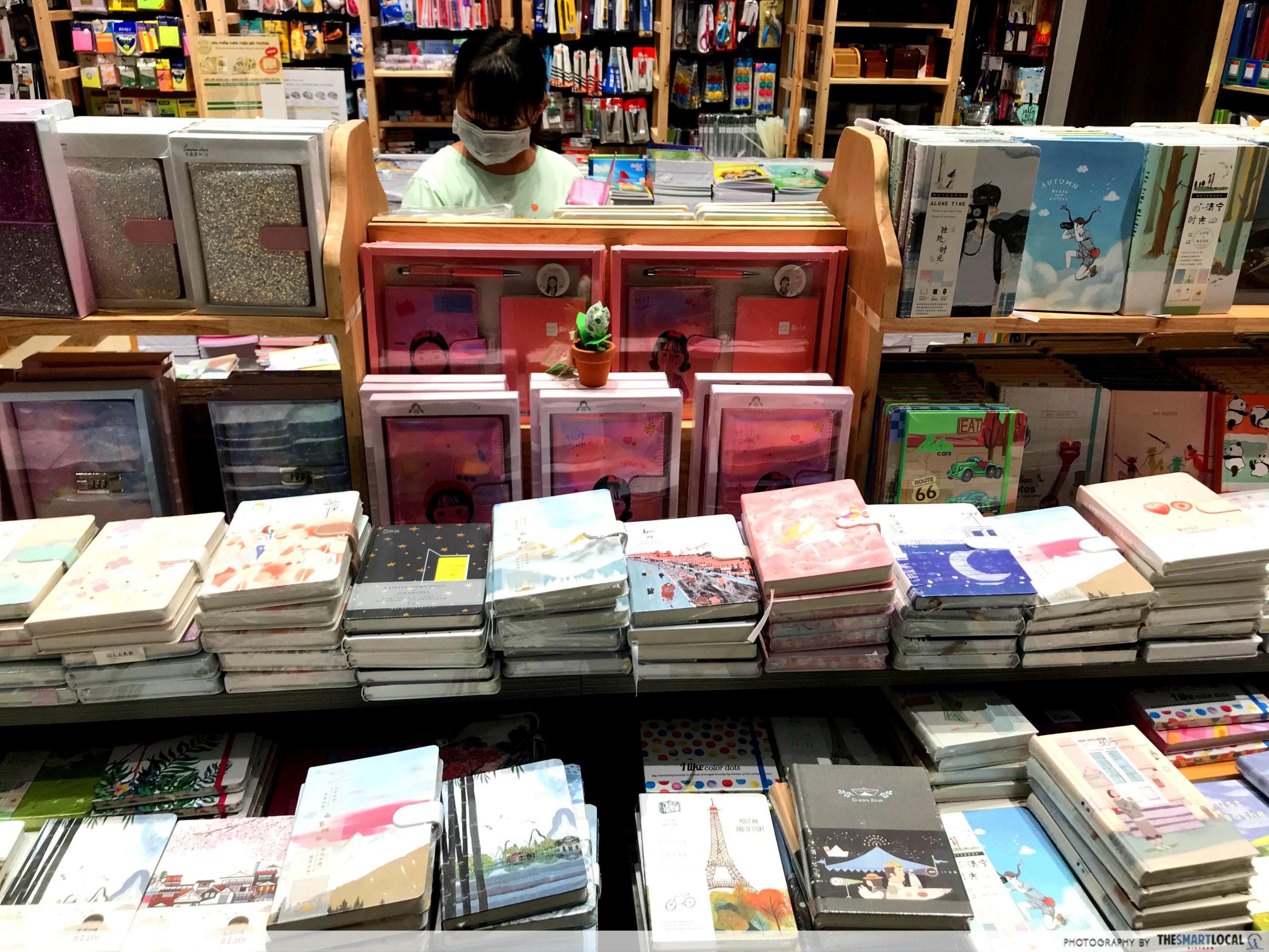 Phuong Nam Book City Saigon Center_notebooks