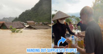 Vietnam's Central Cities Heavily Hit By Floods & Storms, Everyone Joins Hands To Support The Affected