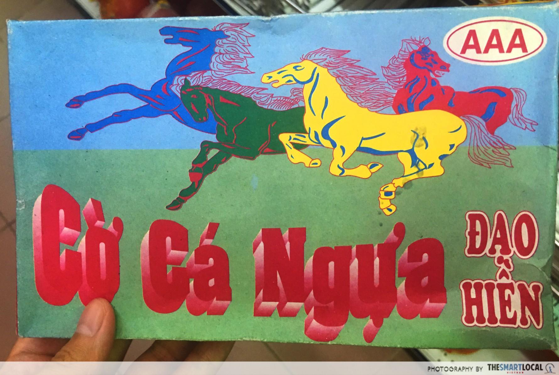 90's keepsakes_petits chevaux