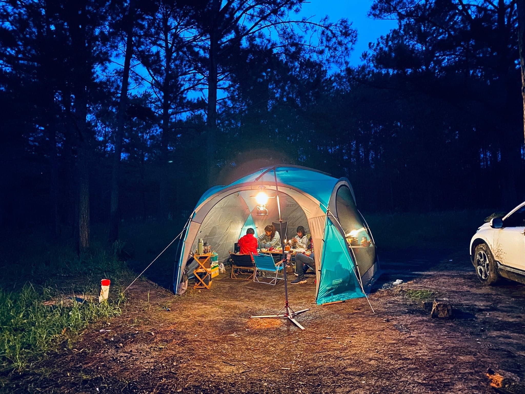 Vietnam camping sites_Lang Biang