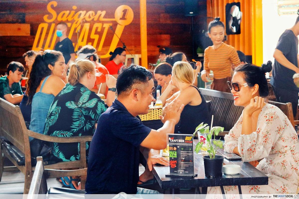 saigon outcast - outdoor dining