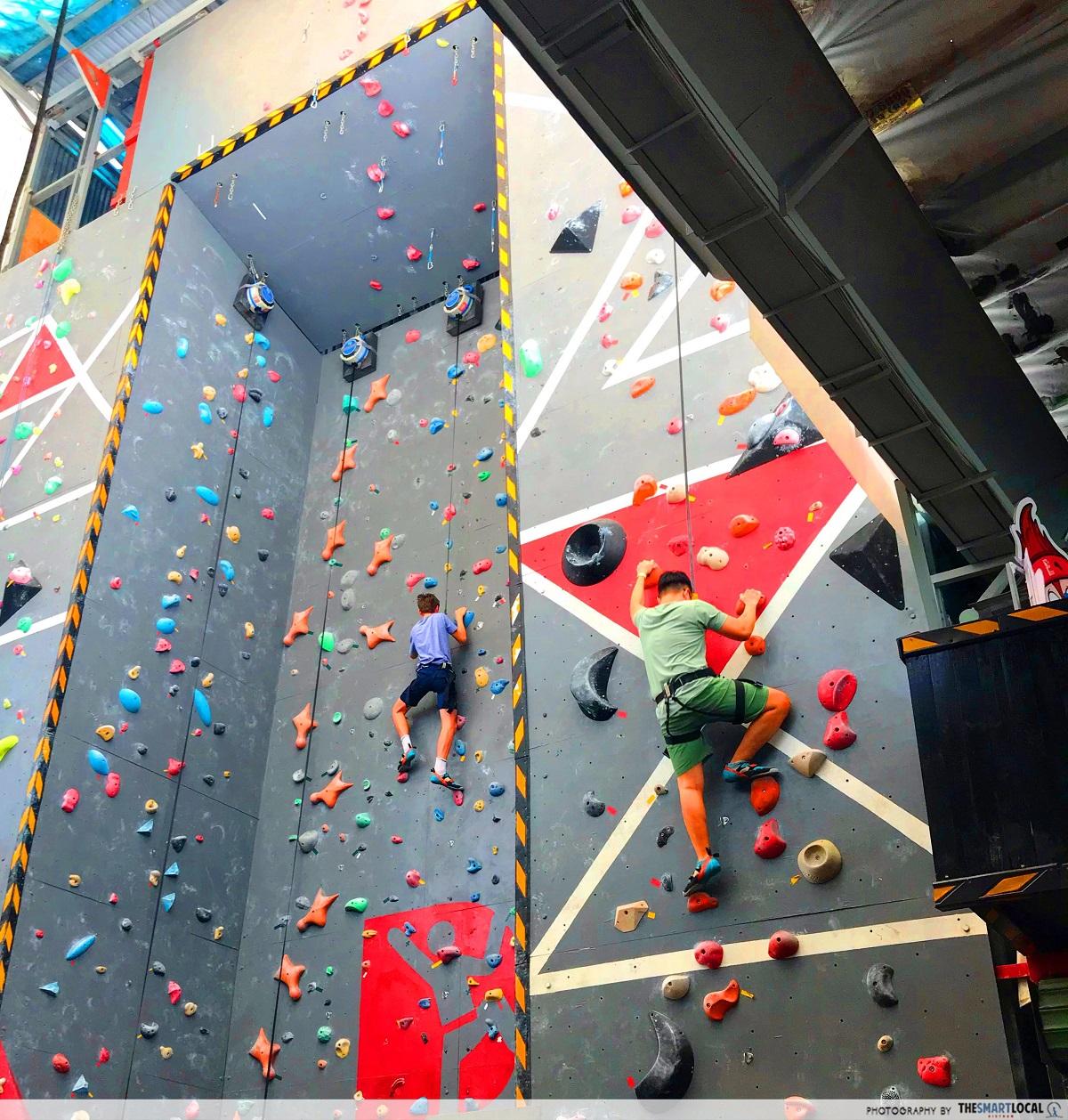 saigon outcast - rock climbing