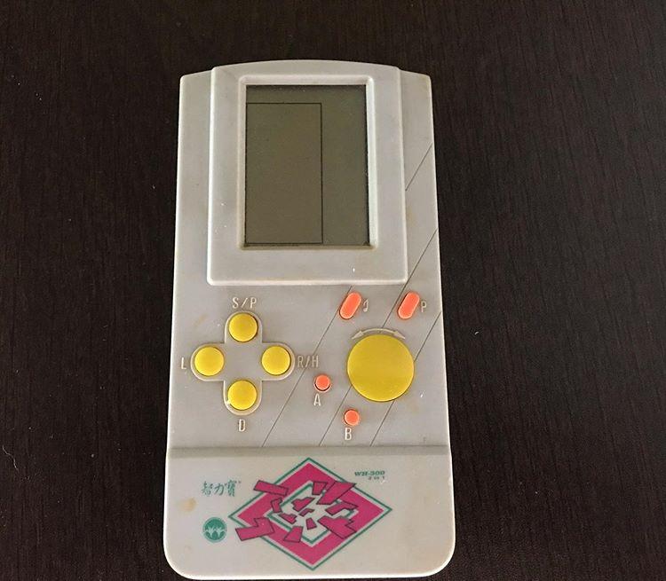 90's keepsakes_handheld game