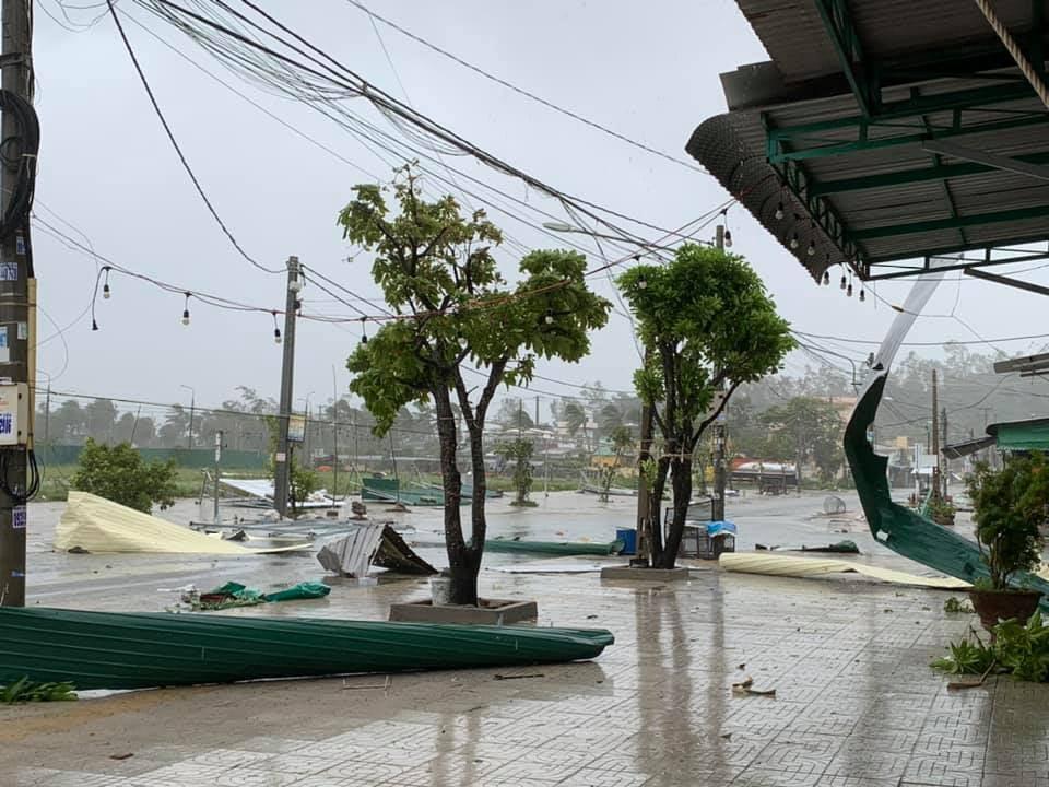 Typhoon Molave Quang Ngai