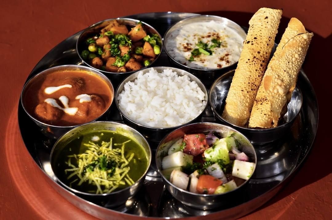 Ganesh restaurant Thali